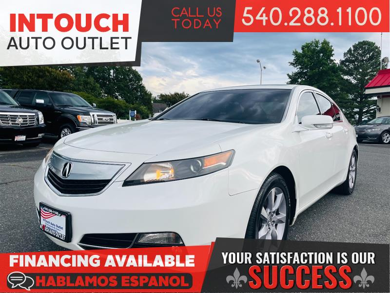 2013 ACURA TL w/TECHNOLOGY PACKAGE & NAVIGATION SYSTEM