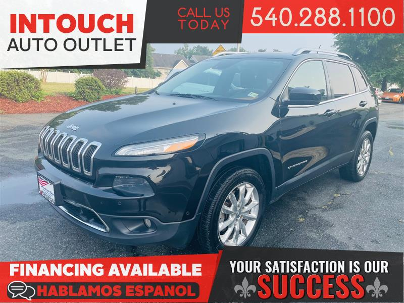 2014 JEEP CHEROKEE LIMITED 4WD w/TECHNOLOGY & LUXURY PACKAGE NAVIGATION/MOONROOF
