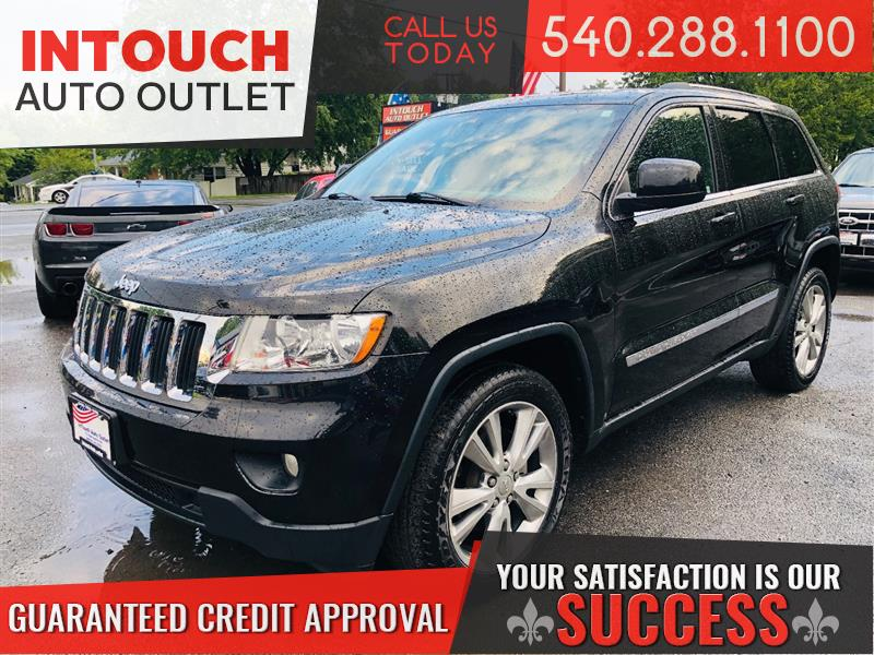 2013 JEEP GRAND CHEROKEE LAREDO 4WD WITH NAVIGATION LEATHER SUNROOF