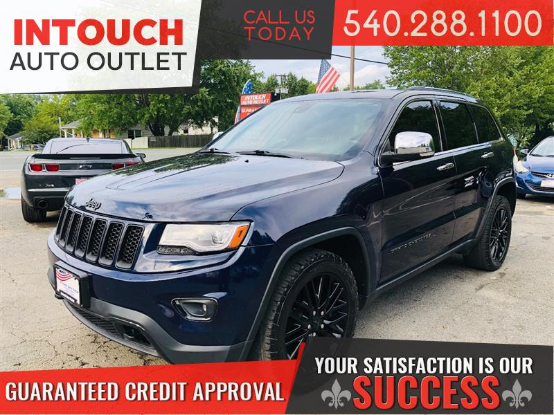 2014 JEEP GRAND CHEROKEE LIMITED 4WD V8 HEMI 5.7L