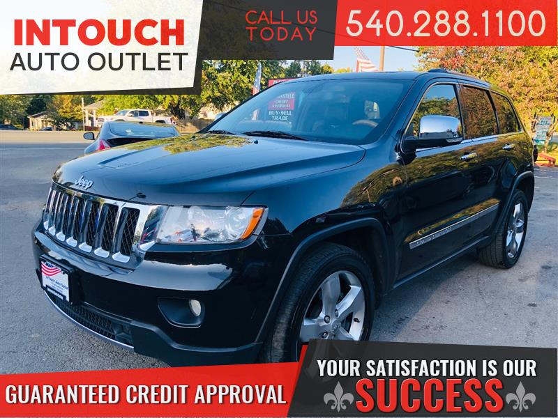 2013 JEEP GRAND CHEROKEE Overland 4X4 Low Miles - Nav Pano Roof