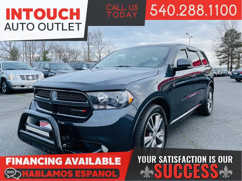 2013 DODGE DURANGO R/T AWD WITH NAVIGATION ONE OWNER