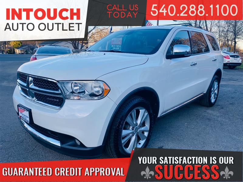 2011 DODGE DURANGO CREW WITH LEATHER INTERIOR & NAVIGATION SYSTEM