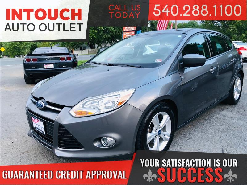 2012 FORD FOCUS SE HATCHBACK ONE PREVIOUS OWNER