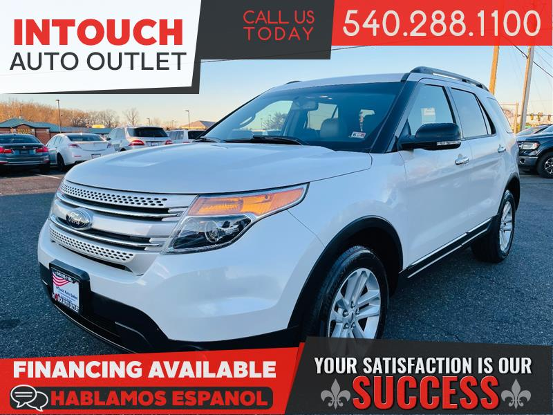2013 FORD EXPLORER XLT 4WD WITH NAVIGATION PANORAMIC MOONROOF