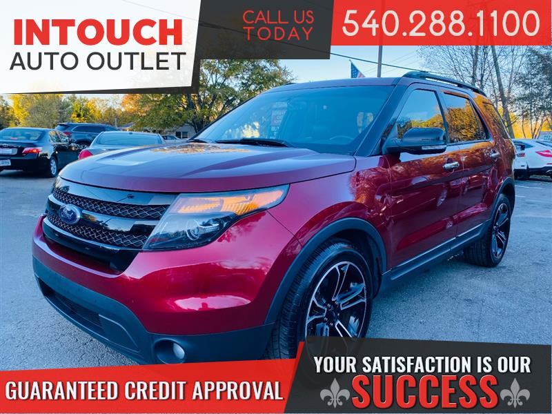 2013 FORD EXPLORER SPORT 4WD WITH NAVIGATION