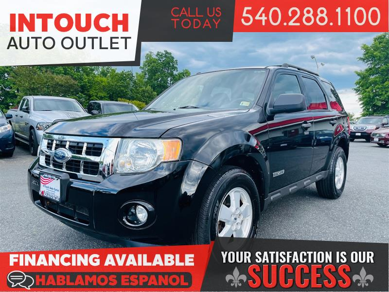 2008 FORD ESCAPE XLT w/ CONVENIENCE SUN & SATELLITE PACKAGE MOONROOF