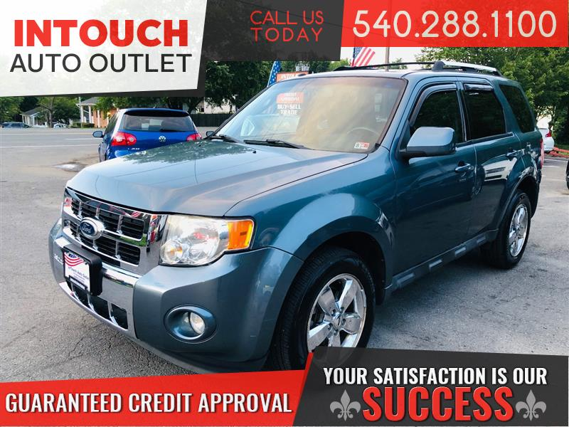 2010 FORD ESCAPE LIMITED WITH NAVIGATION AND SUNROOF