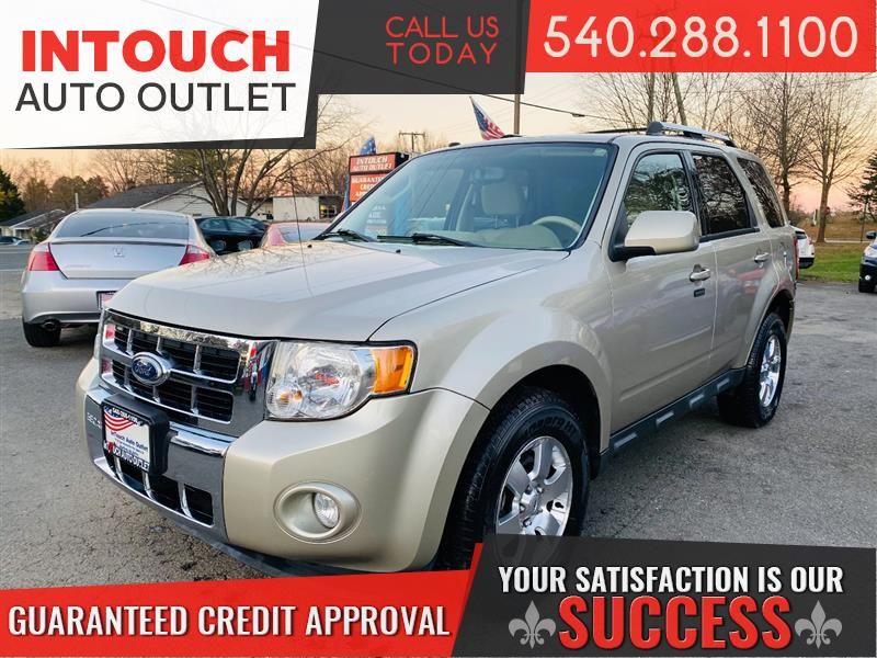 2012 FORD ESCAPE LIMITED 4WD WITH SUNROOF