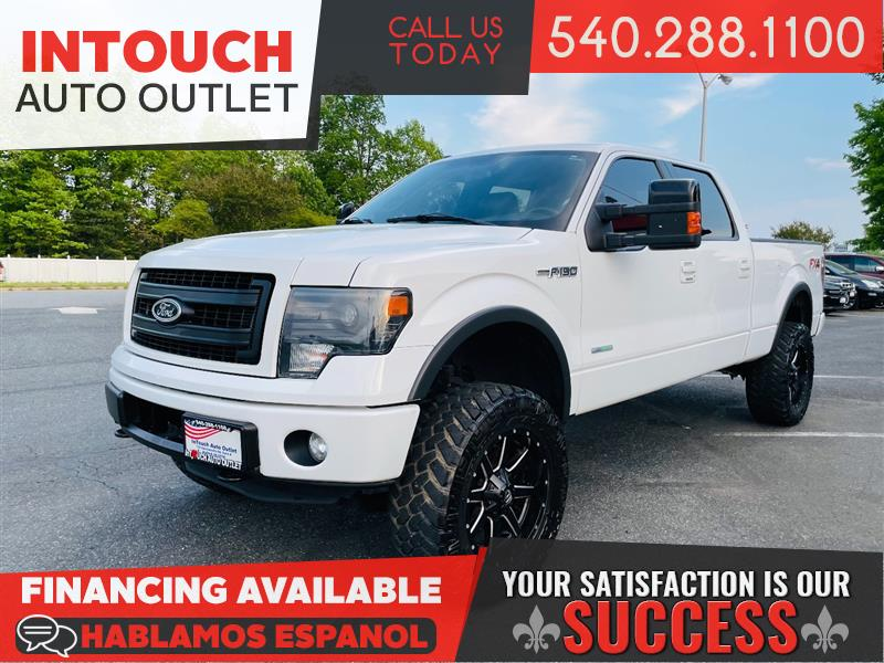 2013 FORD F-150 SUPERCREW FX4 WITH FX LUXURY PACKAGE NAV MOONROOF