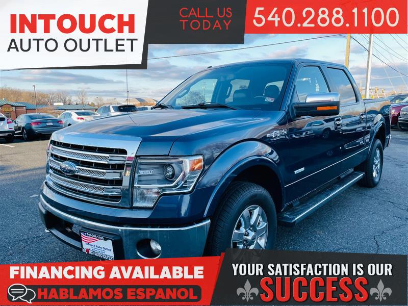 2014 FORD F-150 LARIAT 4WD WITH NAVIGATION