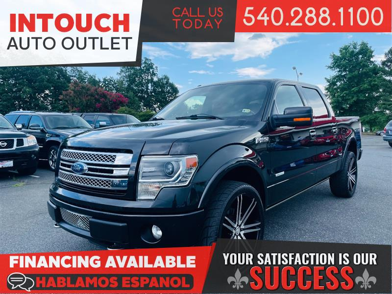2013 FORD F-150 LIMITED 4WD SUPERCREW