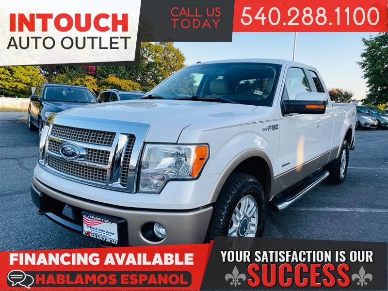 2011 FORD F-150 Lariat SuperCab 4WD