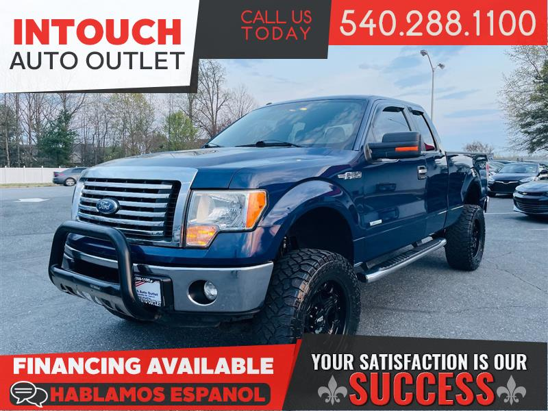 2012 FORD F-150 XLT PLUS SUPERCAB 4WD w/CONVENIENCE OFF ROAD & CHROME PACKAGES