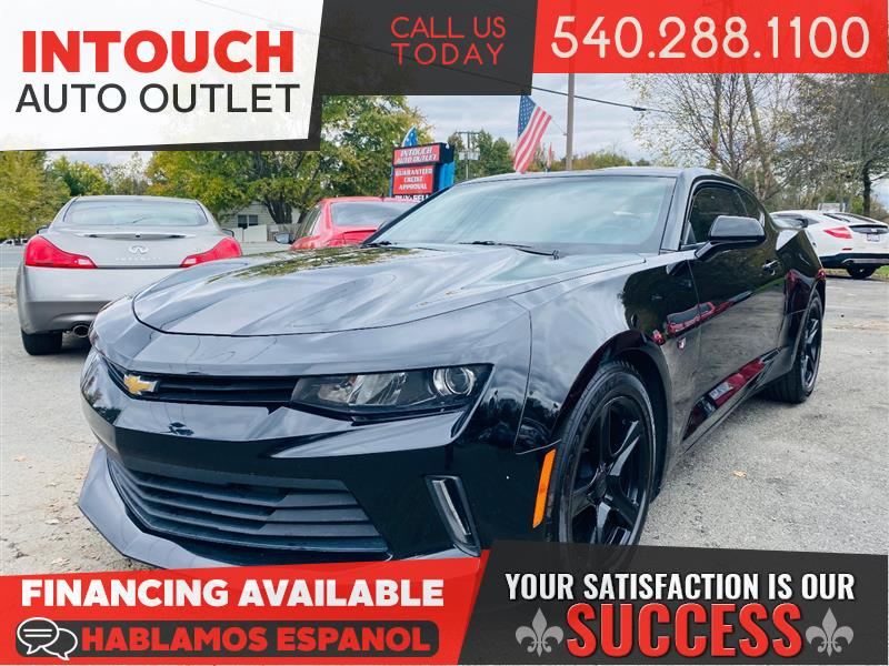2016 CHEVROLET CAMARO LT WITH NAVIGATION PACKAGE