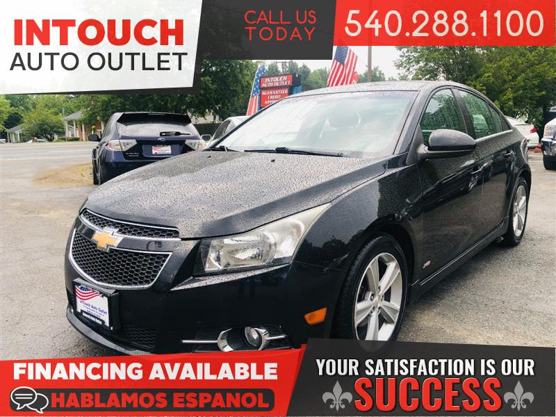 2012 CHEVROLET CRUZE 2LT WITH RS PACKAGE