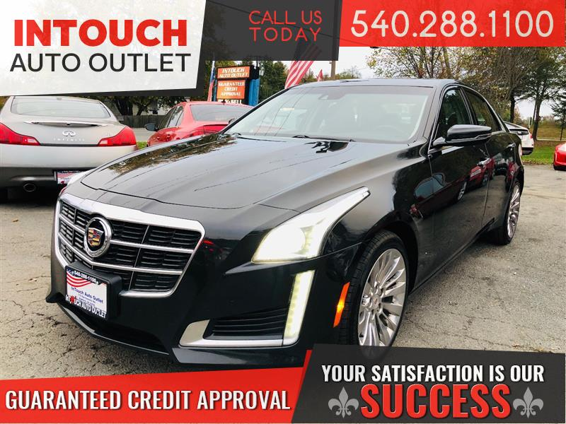 2014 CADILLAC CTS SEDAN LUXURY AWD WITH NAV AND MOONROOF