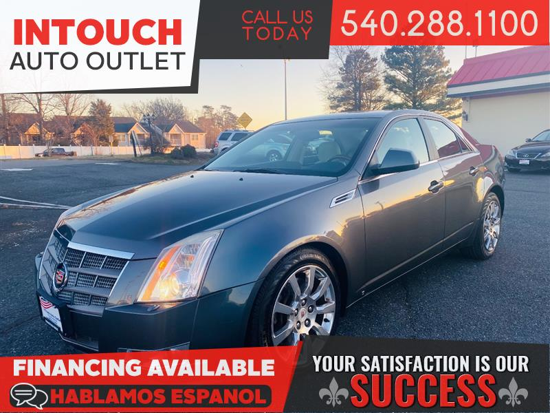 2008 CADILLAC CTS AWD WITH LUXURY AND PERFORMANCE PACKAGE