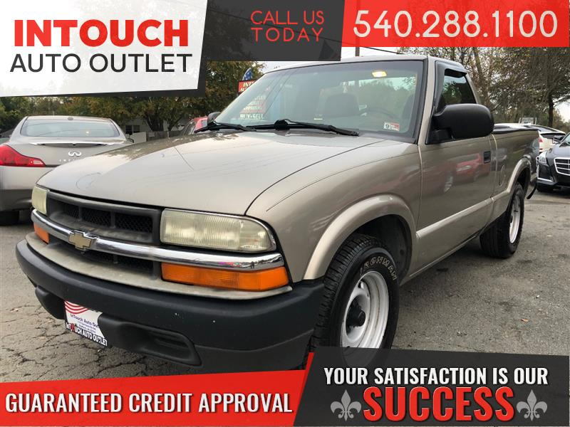 2003 CHEVROLET S-10 EXTENDED CAB