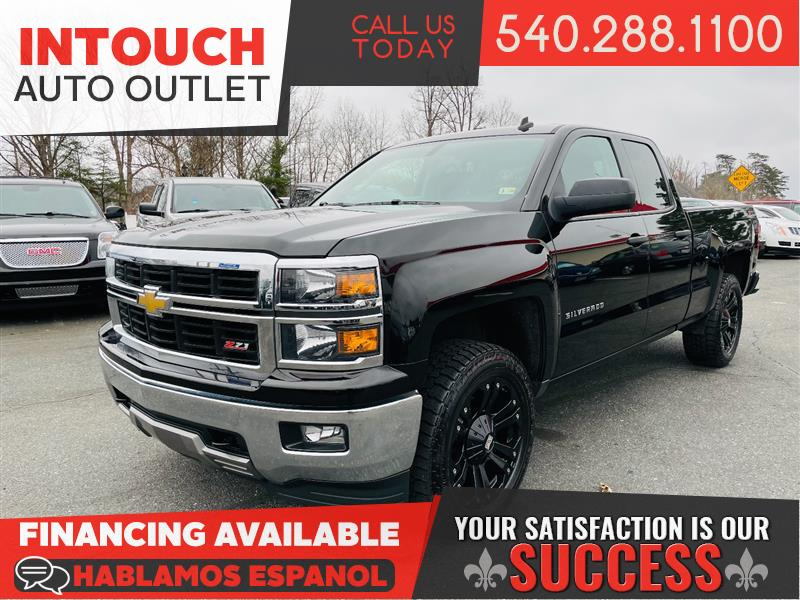 2014 CHEVROLET SILVERADO 1500 LT 4WD CUSTOMIZED AND LIFTED