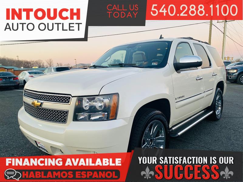 2008 CHEVROLET TAHOE LTZ 4WD WITH NAVIGATION AND DVD VIDEO SYSTEM