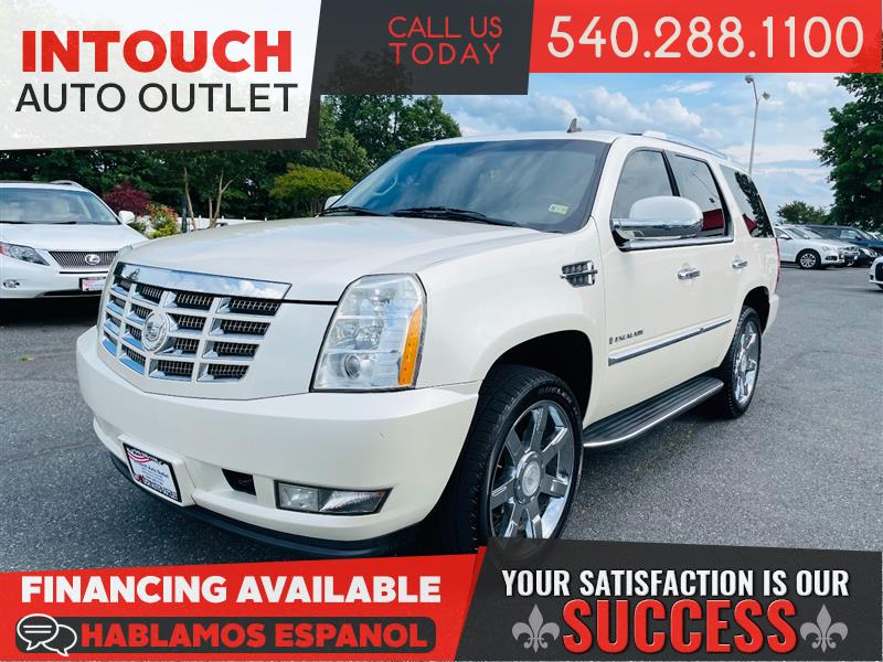 2008 CADILLAC ESCALADE AWD w/V8 ULTRA LUXURY COLLECTION DVDs