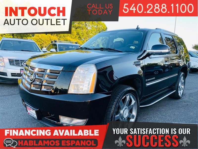 2007 CADILLAC ESCALADE AWD w/ NAV CLIMATE & INFORMATION PACKAGE DVDs