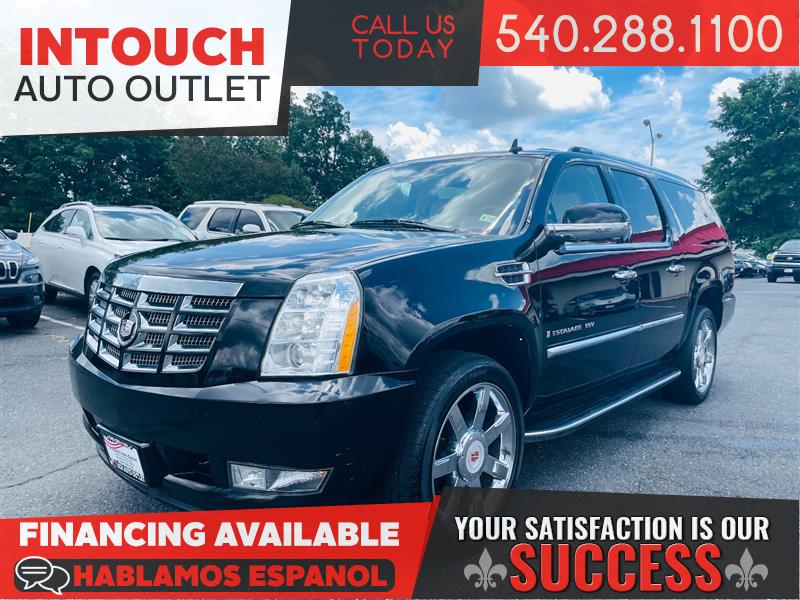 2008 CADILLAC ESCALADE ESV AWD V8 ULTRA LUXURY COLLECTION w/DVDs NAV SUNROOF