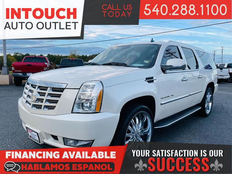 2011 CADILLAC ESCALADE ESV LUXURY AWD WITH NAVIGATION AND ENTERTAINMENT PACKAGE