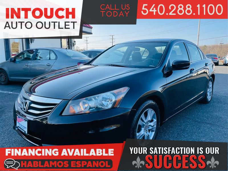 2012 HONDA ACCORD SDN SE WITH LEATHER AND HEATED FRONT SEATS