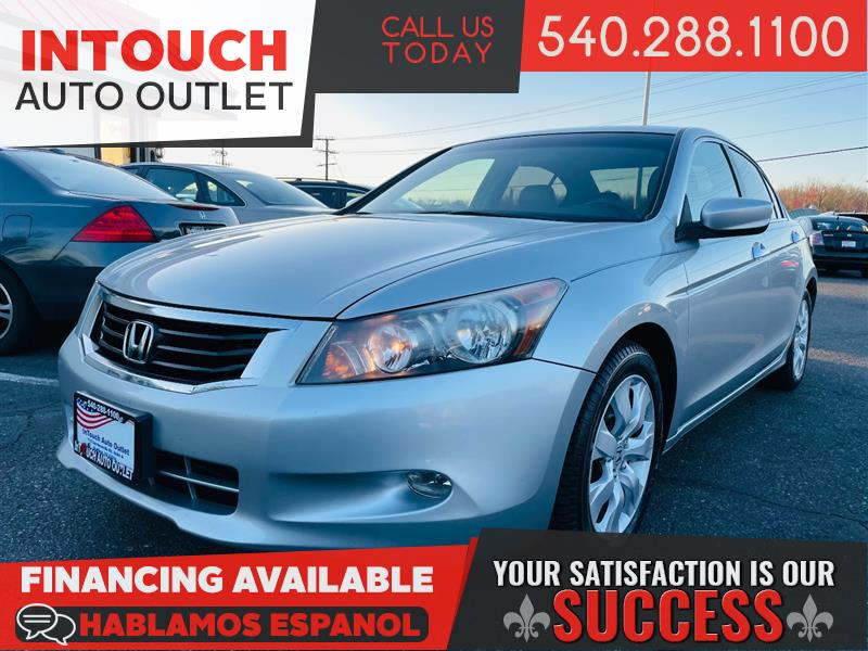 2008 HONDA ACCORD SDN EX-L WITH NAVIGATION SYSTEM & SUNROOF