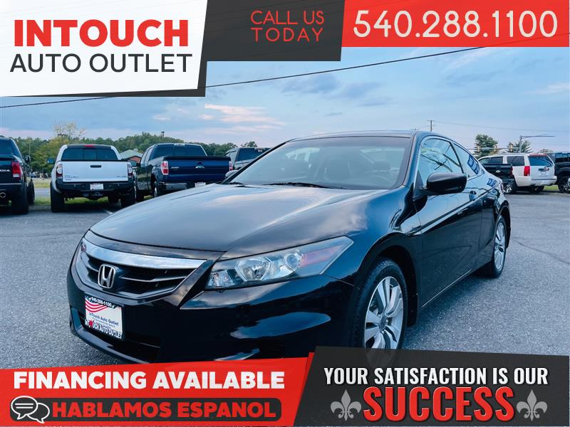 2012 HONDA ACCORD COUPE EX-L w/NAVIGATION SYSTEM AND SUNROOF