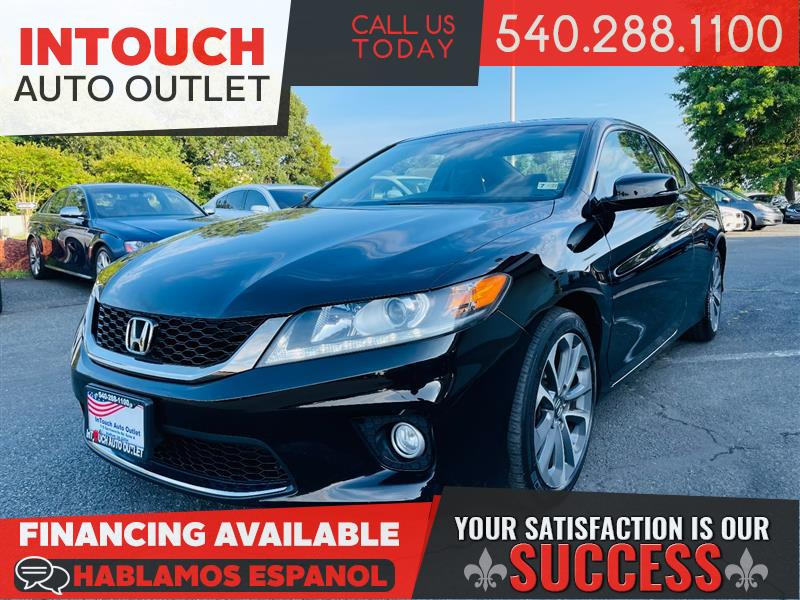 2013 HONDA ACCORD COUPE EX-L V6 w/SUNROOF & LOW MILES