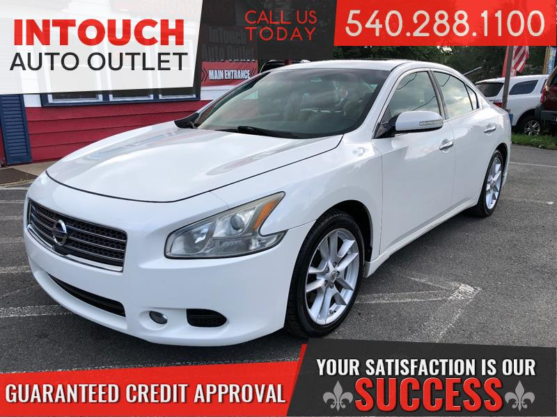 2009 NISSAN MAXIMA SV WITH BOSE SOUND SYS AND LEATHER SEATING