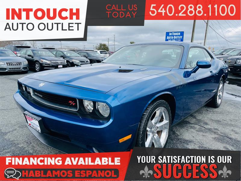 2009 DODGE CHALLENGER R/T 6 SPEED MANUAL