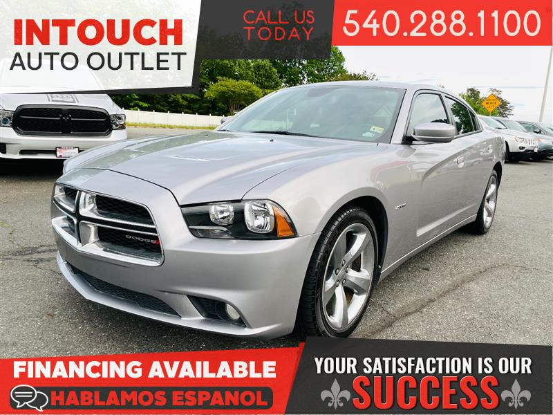 2014 DODGE CHARGER R/T PLUS WITH NAVIGATION & SUNROOF