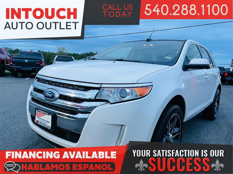 2013 FORD EDGE SEL AWD WITH NAVIGATION SYSTEM AND PANORAMIC MOONROOF