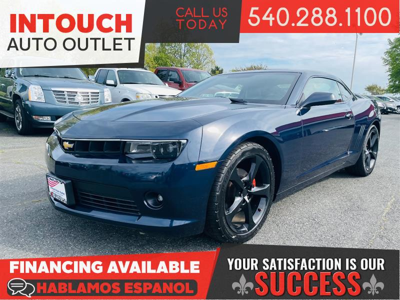 2015 CHEVROLET CAMARO LT w/2LT RS PACKAGE NAVIGATION AND SUNROOF