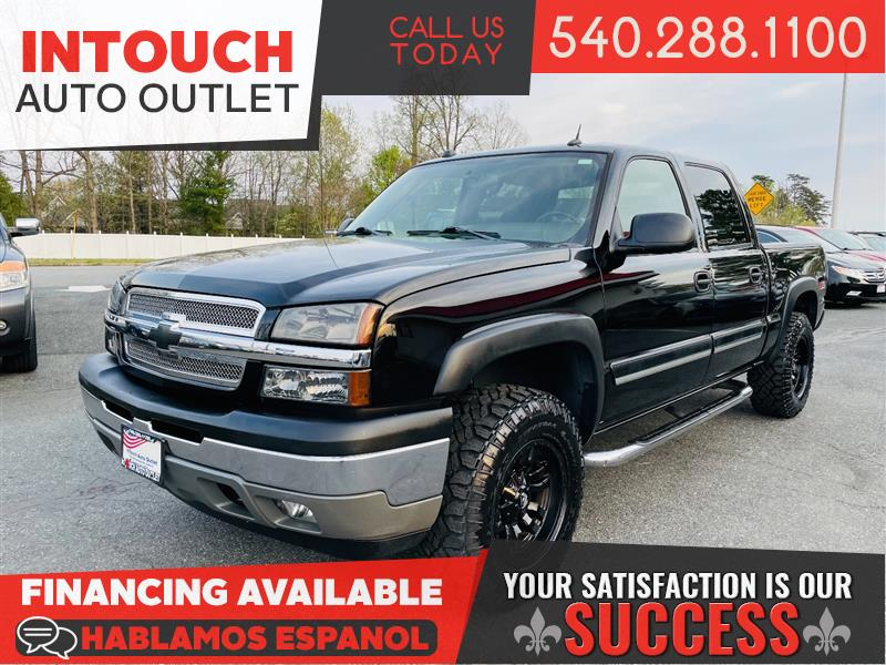 2005 CHEVROLET SILVERADO 1500 4WD Z71 PACKAGE CUSTOMIZED ONE OWNER