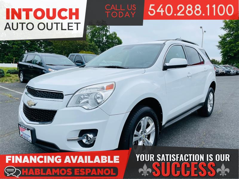 2012 CHEVROLET EQUINOX LT/2LT AWD WITH LEATHER SEATING