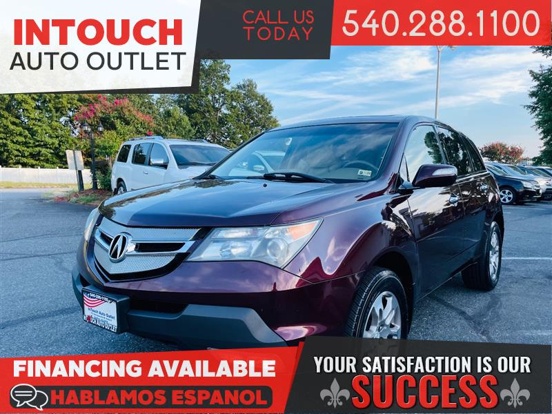 2007 ACURA MDX AWD w/TECHNOLOGY PACKAGE