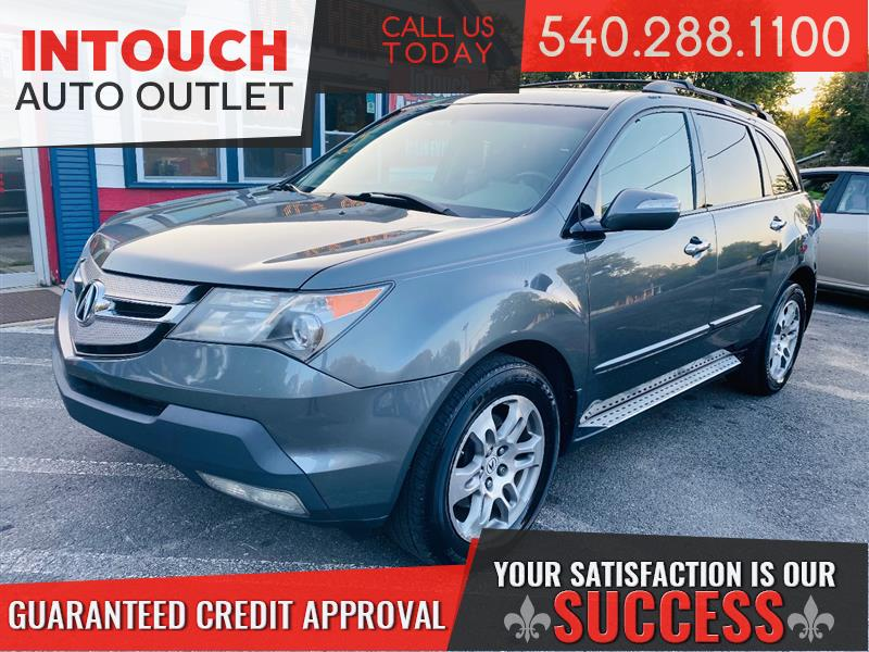 2008 ACURA MDX SH-AWD TECHNOLOGY AND ENTERTAINMENT PACKAGE