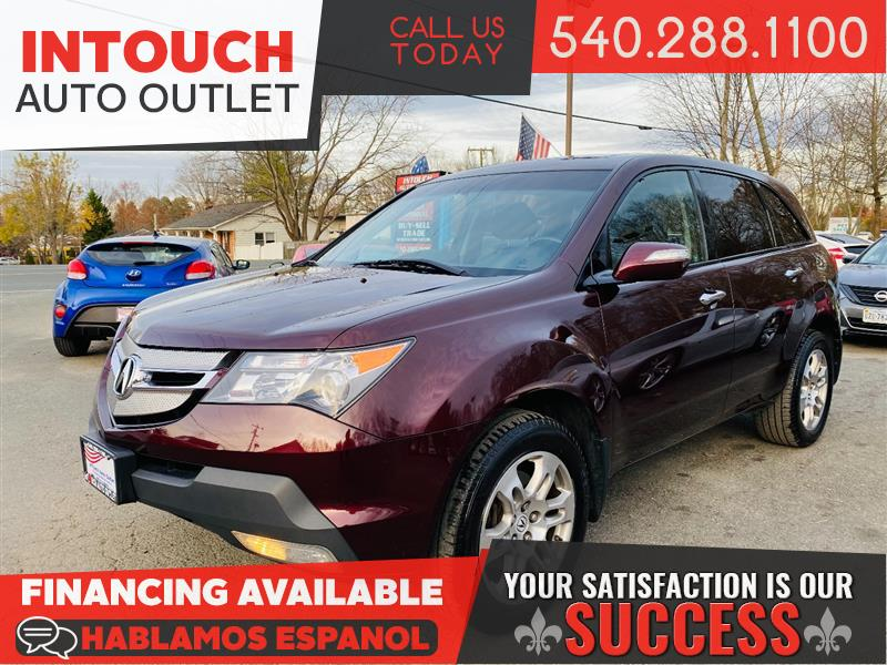 2009 ACURA MDX SH-AWD TECHNOLOGY AND ENTERTAINMENT PACKAGE