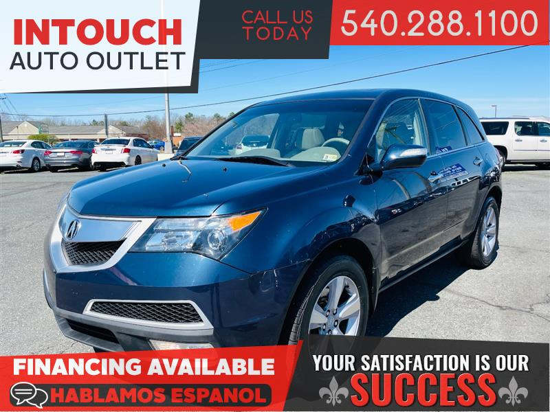 2012 ACURA MDX TECHNOLOGY PACKAGE AWD with NAV & THIRD ROW