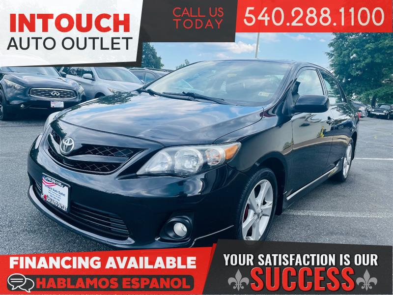 2011 TOYOTA COROLLA S w/SPORT PACKAGE AND MOONROOF