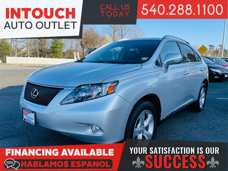2010 LEXUS RX 350 AWD WITH PREMIUM & COMFORT PACKAGE NAVIGATION