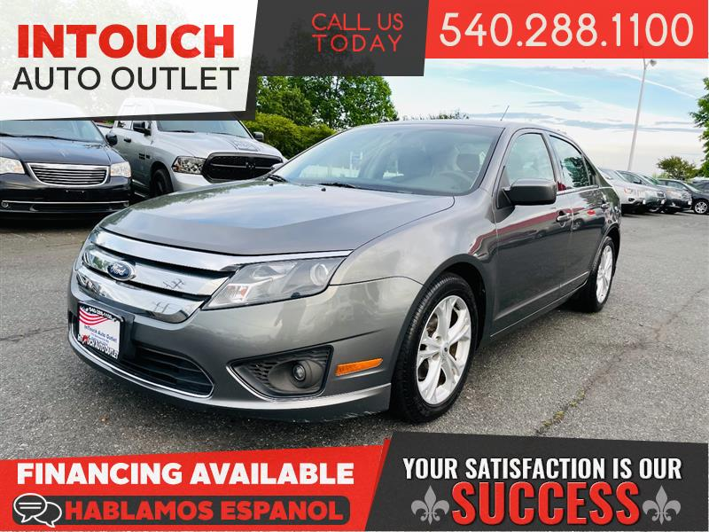 2012 FORD FUSION SE w/ SUN & SYNC VALUE PACKAGE SUNROOF