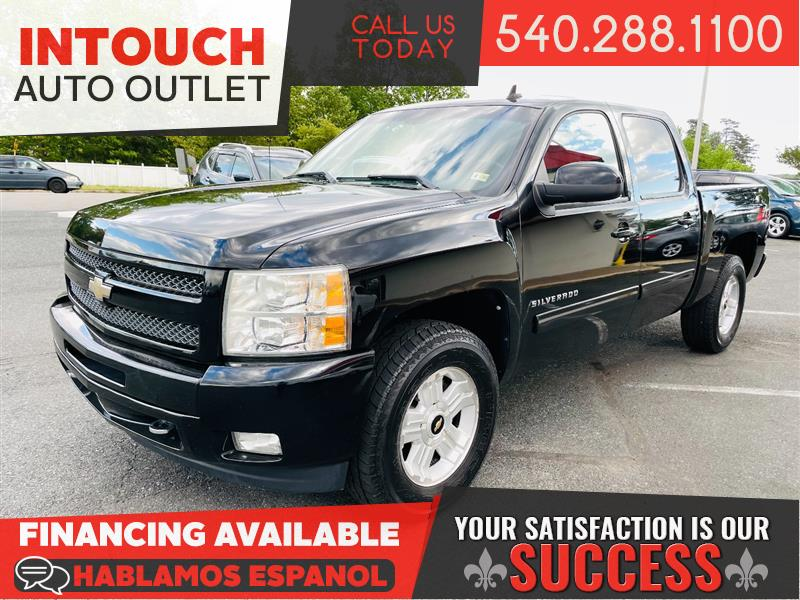 2011 CHEVROLET SILVERADO 1500 LTZ CREW CAB w/ OFF ROAD SUSPENSION & Z71 APPEARANCE PKG