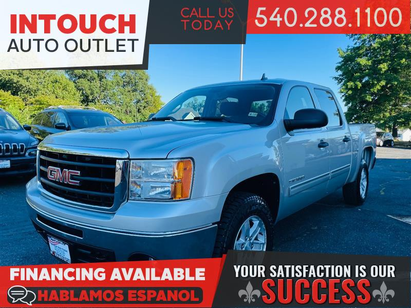 2011 GMC SIERRA 1500 SLE 4WD CREW CAB w/CONVENIENCE HD TRAILERING AND SUSPENSION OFF ROAD PACKAGE