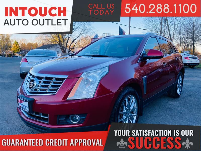 2013 CADILLAC SRX PREMIUM COLLECTION AWD WITH NAVIGATION MOONROOF